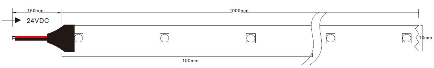 STRIP LED UV-C